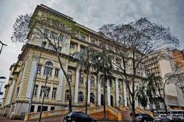 Fachada Secretaria_Fazenda Escada