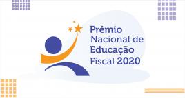 Imagem escrito premio nacional educação fiscal