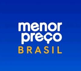 Arte gráfica do aplicativo Menor Preço Brasil