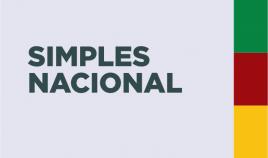 Imagem escrito Simples Nacional