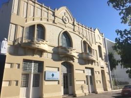 Imagem da fachada da Delegacia da Receita Estadual de Bagé