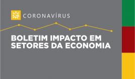 Imagem escrito boletim impactos nas movimentações econômicas